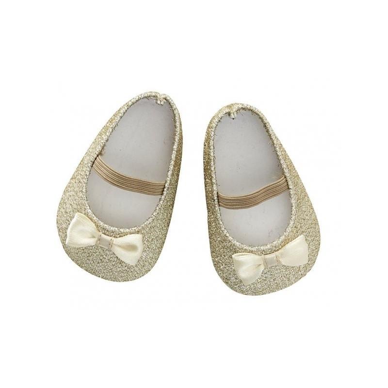 Doll Shoe Gold 45cm