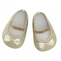 Doll Shoe Gold 45cm