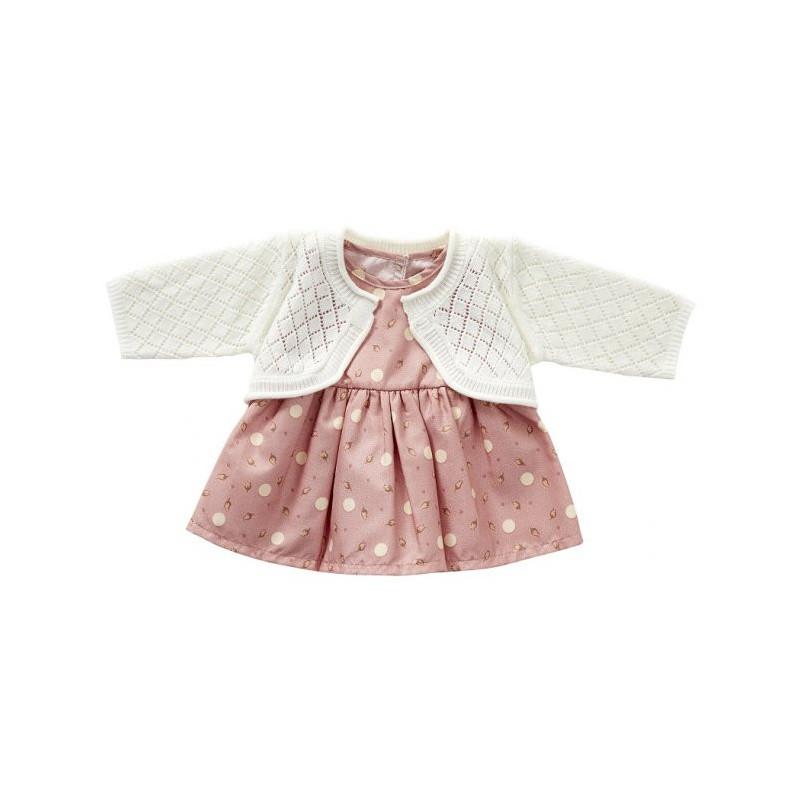 Dress and cardigan, knit