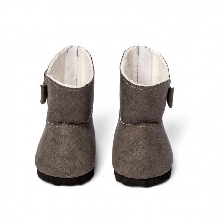 Doll winterboots, Grey