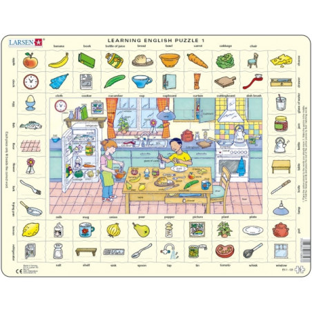 Learning English - The Kitchen