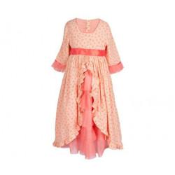 Maileg - Prinsessklänning, korall, storlek 6-8