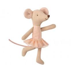 Maileg - Lillasyster mus ballerina
