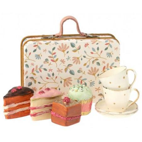Maileg - Fika set i resväska