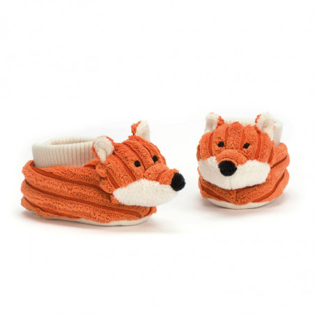 Jellycat - Cordy Roy Baby Fox Booties