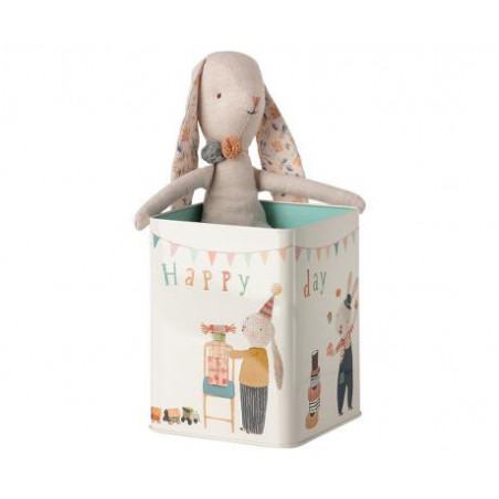 Maileg - Happy day bunny in box