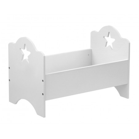 Kids Concept - Docksäng vit 50 cm STAR
