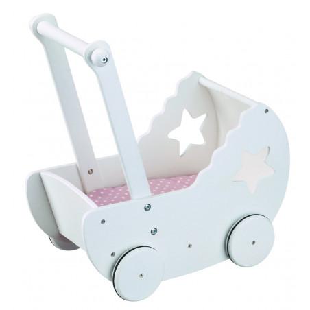 Kid's Concept - Dockvagn vit STAR