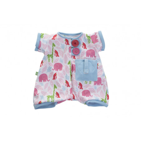Rubens Baby - Pocket friends pink pyjamas