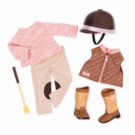 Our generation - Ridkläder för dockan