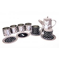 Pellianni - Tin Tea Set Grey