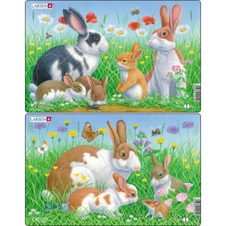 Larsen - Pussel Kaniner
